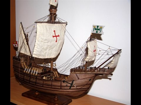 Santa Maria - Ship Carrack -  First voyage Christopher Columbus 1492