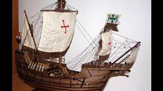 Santa Maria - Ship Carrack -  First voyage Christopher Columbus 1492