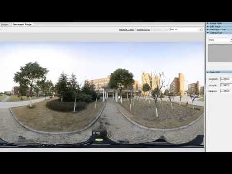 Photo stitch software-Panoweaver-How to Creat Little Planet Panorama
