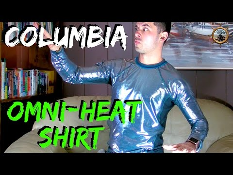 Columbia Omni Heat Shirt // Futuristic Thermal Fabric