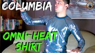 Columbia Omni Heat Shirt // Futuristic Thermal Fabric