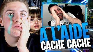 La petite nièce de Michou lui trouve une cachette mais... Cache-Cache sur Fortnite Créatif !