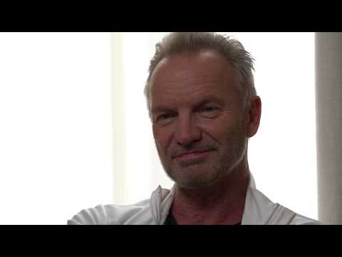 Sting Discusses MY SONGS - Englishman In New York