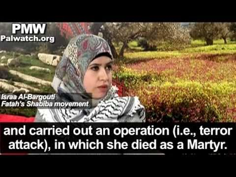 "Terrorist who led killing of 37 is ‎""the Bride of Palestine"" - Host on Fatah-run TV"