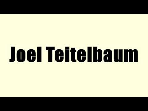 Joel Teitelbaum