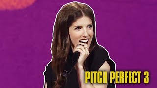 Anna Kendrick - Captain of the BECHLOE Ship | Pitch Perfect 3 Cast at VidCon 2017