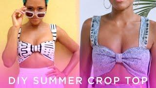 diy summer crop top haulternative