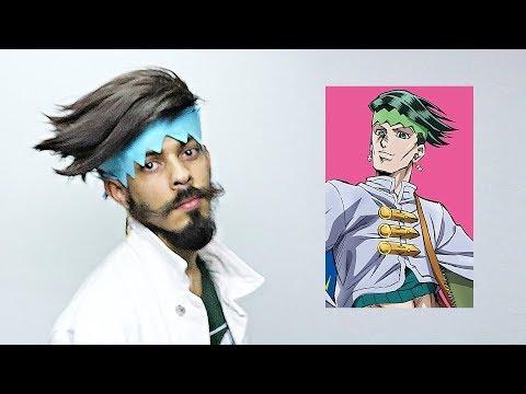 Rohan Kishibe Hairstyle