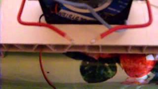 Электрофорная машина Гольца(Сделана из плохой машины Вишмурста, разряд на остриях 12 мм, на шариках 5 мм., 2015-03-25T11:04:27.000Z)