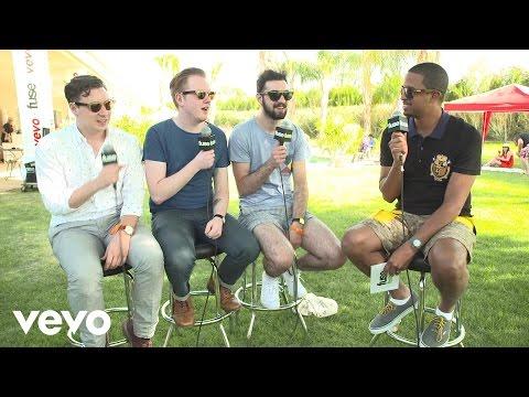 Two Door Cinema Club - Fuse Interview (Coachella 2013)