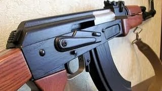 Лего АК-47 з спаркой в магазині