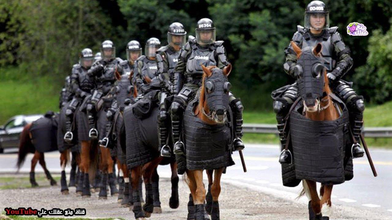 لماذا لا تزال الشرطة تركب الخيول في بعض الدول المتقدمة ؟!