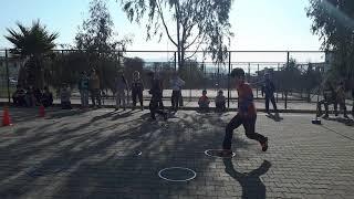 Beden Eğitimi ve spor dersi eglenceli egitici parkur oyunu