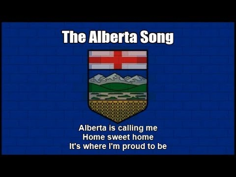The Official Provincial Song of Alberta in Canada (Nightcore Style With  Lyrics)