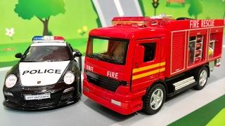 Мультики про машинки. ЛЕГО Игрушки машинки в мультике - Хочу стать пожарным. Видео для детей