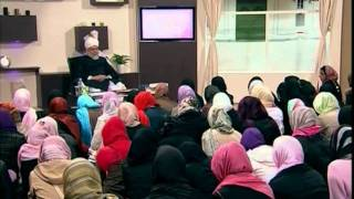 Gulshan-e-Waqfe Nau Nasirat, 16 May 2009, Educational class with Hadhrat Mirza Masroor Ahmad(aba)