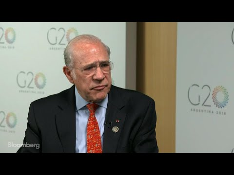 OECD's Gurria on Risks to Global Economy, Trade, Structural Reform