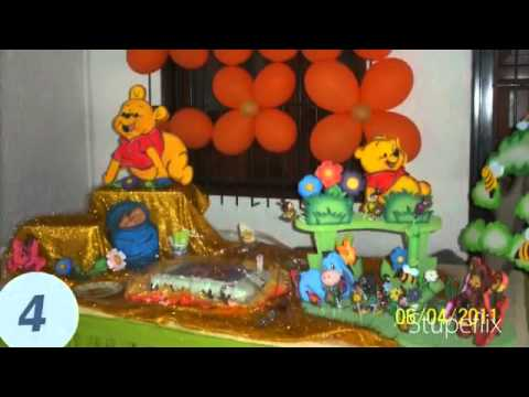 Lindos momentos decoraciones de fiestas youtube - Decoracion fiestas bebes ...