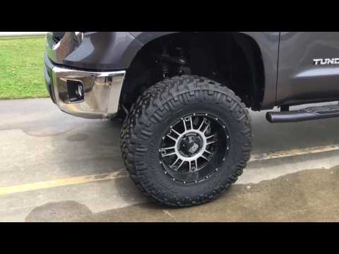 14 Tundra front end clunk - YouTube