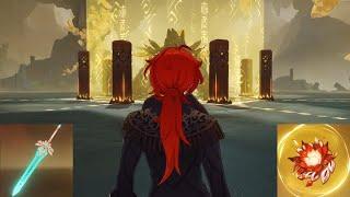 【原神】誕生日のディルックに若陀龍王をプレゼント Happy Birthday Lv90 Diluc C4 vs Azhdaha【Genshin Impact】のサムネイル