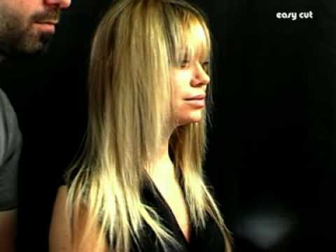 tutoriel coiffure degrad cheveux longs layered haircut tutorial youtube. Black Bedroom Furniture Sets. Home Design Ideas