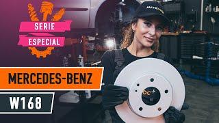 Reemplazar Juego de frenos de disco MERCEDES-BENZ A-CLASS: manual de taller