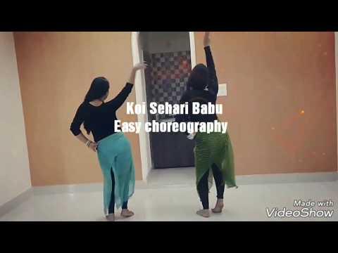 Koi Sehri Babu Remix | Easy choreography | elegant stars