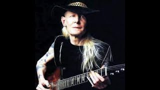 drinking blues (e) johnny winter no lead guitar backing track
