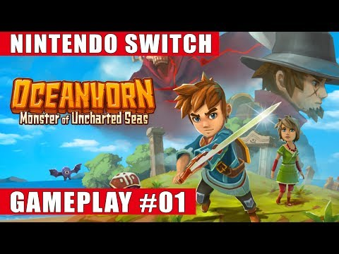 Oceanhorn: Monster Of Uncharted Seas Nintendo Switch Gameplay #1 (Hermit's Island, Tikarel)