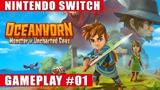 Oceanhorn: Monster of Uncharted Seas Nintendo Switch Gameplay #1 (Hermit