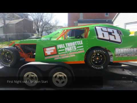 Quincy Raceways Sportmod heat race 4-24-16
