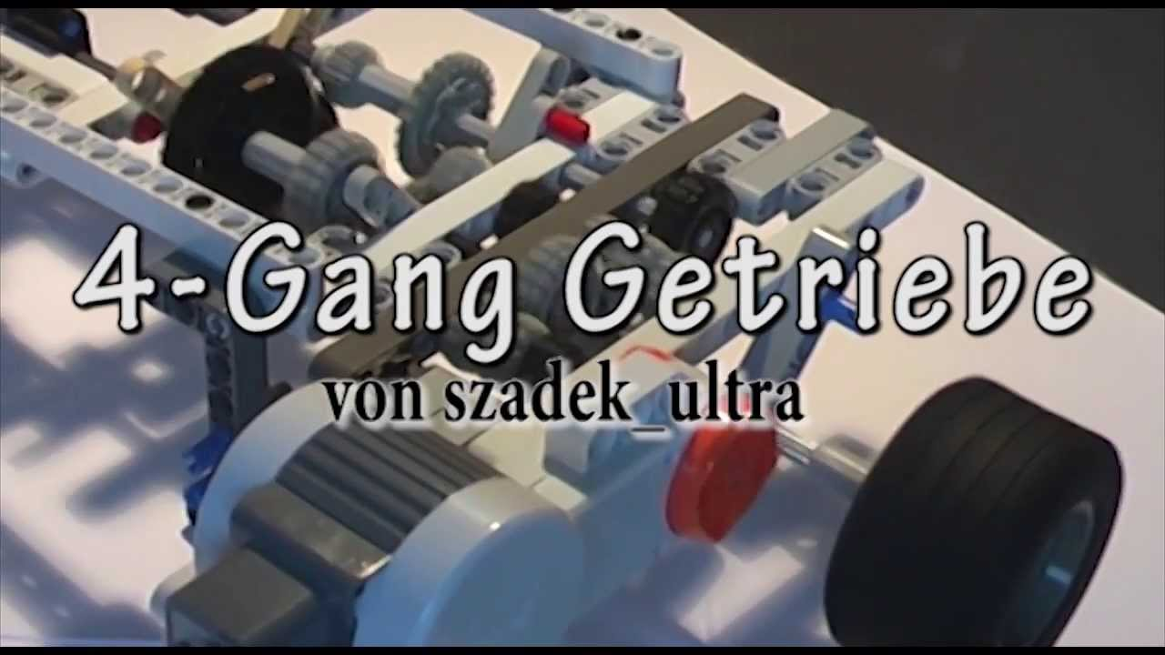 lego mindstorms 4 gang getriebe youtube. Black Bedroom Furniture Sets. Home Design Ideas