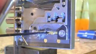 Вскрытие замка САМ 4х4 с ловушками