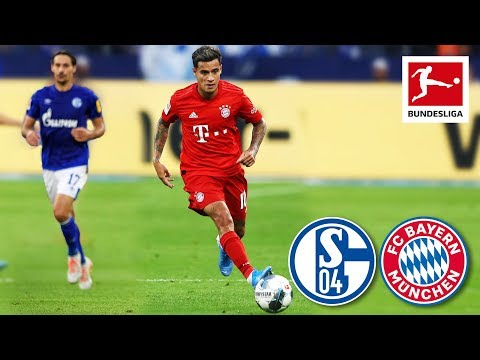 Coutinho's First Match for Bayern - FC Schalke 04 vs. FC Bay