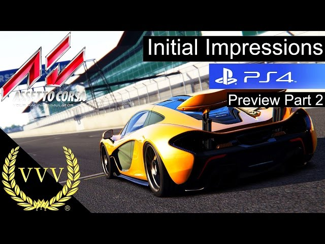Assetto Corsa PS4 Preview Part 2 - Initial Impressions