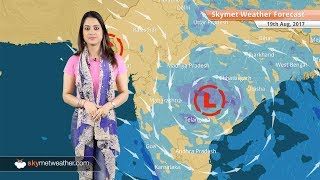 Weather Forecast for Aug 19: Good rain in Hyderabad; light showers in Chennai, Bengaluru