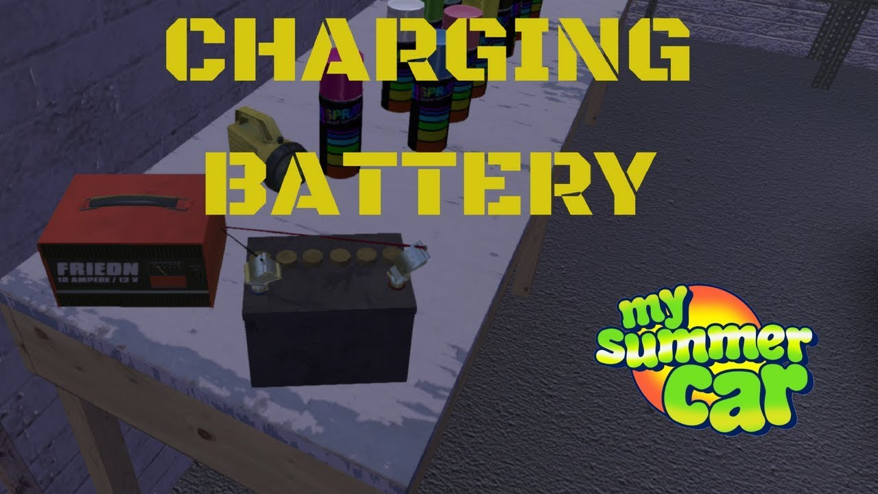 How To Charged The Battery Tutorial My Summer Car 22
