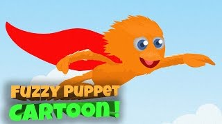 Cartoons For Kids Surprise Funny Toddler Cartoon and Animation Learn Colors by Fuzzy Puppet