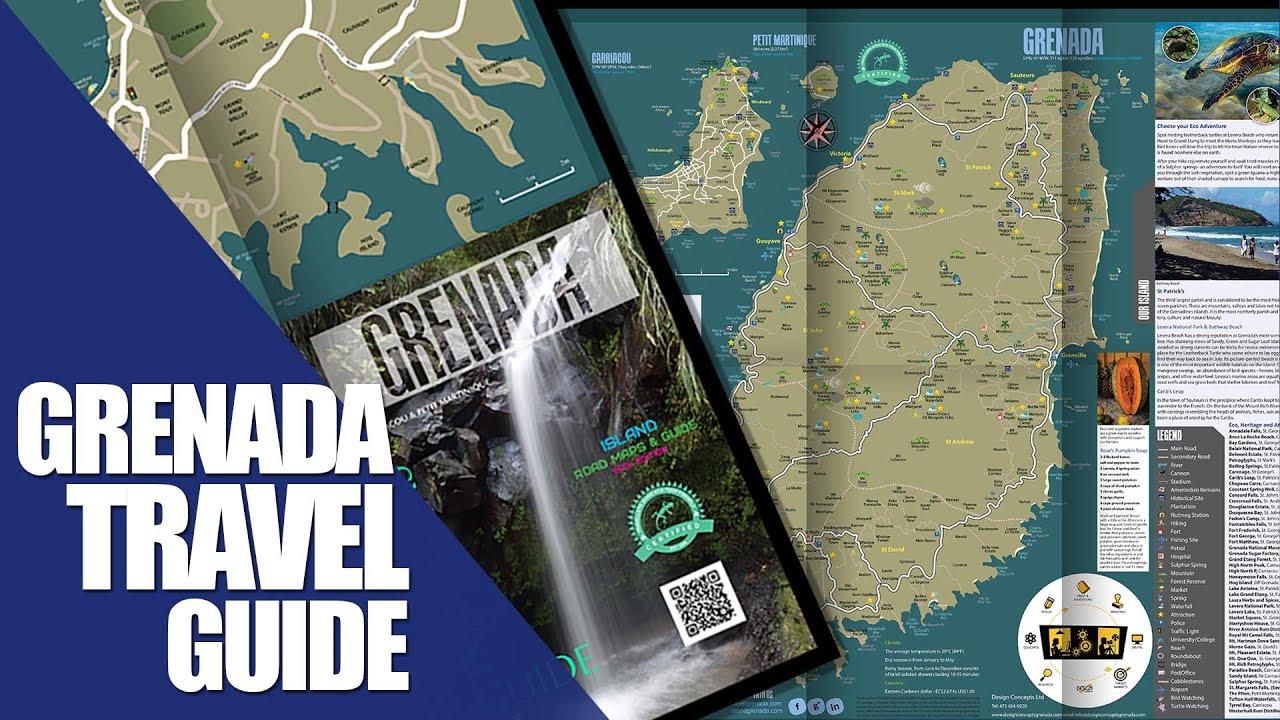 Grenada Travel Guide And Road Maps YouTube - Grenada atlas map