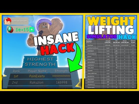 Noob Hacker Pro Roblox Free Robux Hack 2018 March Unlimited Strength Exploit Weight Lifting Simulator 3 Roblox 10 12 2018 Intro To Bodybuilding