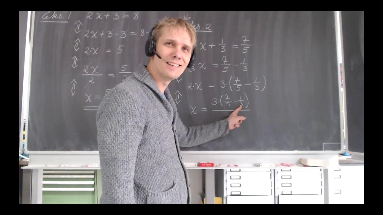 Ligninger og cirklens ligning. Matematik BA-11 ved DTU.