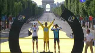 Tour De France 2009 - Danish National Song Fail