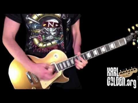 Appetite For Destruction  Guns N Roses  Every Guitar Solo! 12 Tracks!! Karl Golden