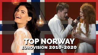 Eurovision NORWAY (2010-2020) | My Top 11