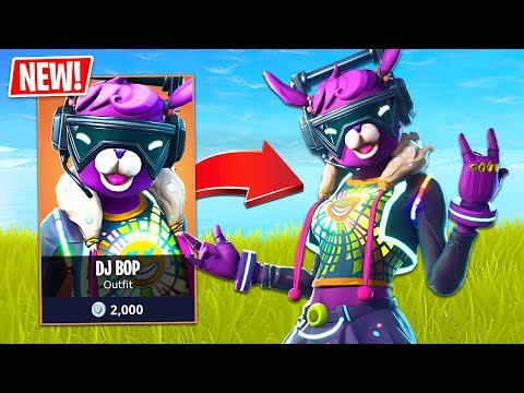 HAPPY NEW YEAR!! *NEW* Legendary DJ Bop Skin! // Pro Fortnite Player // Fortnite Live Gameplay