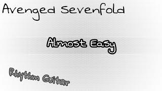 Avenged Sevenfold - Almost Easy TABS RHYTHM GUITAR