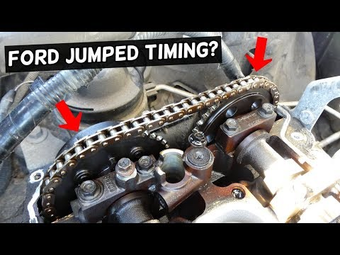FORD 3 5 3 7 JUMPED TIMING CHAIN  FORD EDGE, FLEX, EXPLORER
