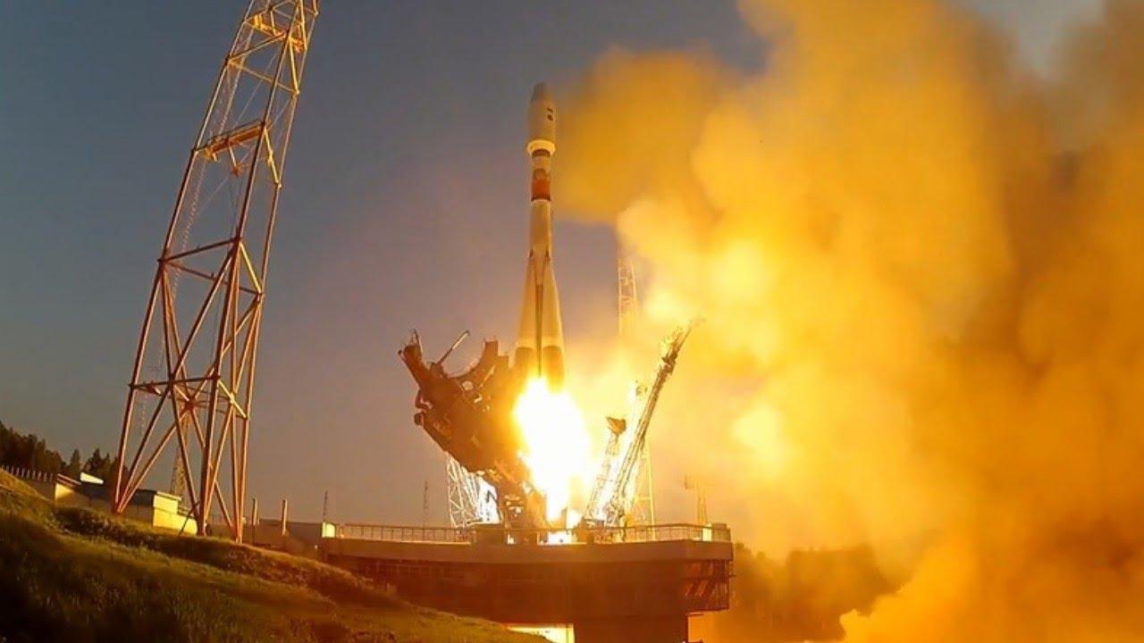 С космодрома Плесецк в Архангельской области стартовала ракета-носитель «Союз-2.1б» с навигационным спутником «ГЛОНАСС-М».