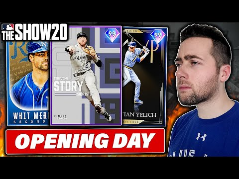OPENING DAY WINNERS ONLY...MLB THE SHOW 20 DIAMOND DYNASTY
