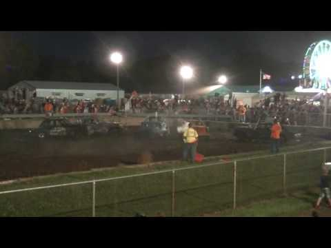 Rush City Demolition Derby July 2017: Builder Class Feature